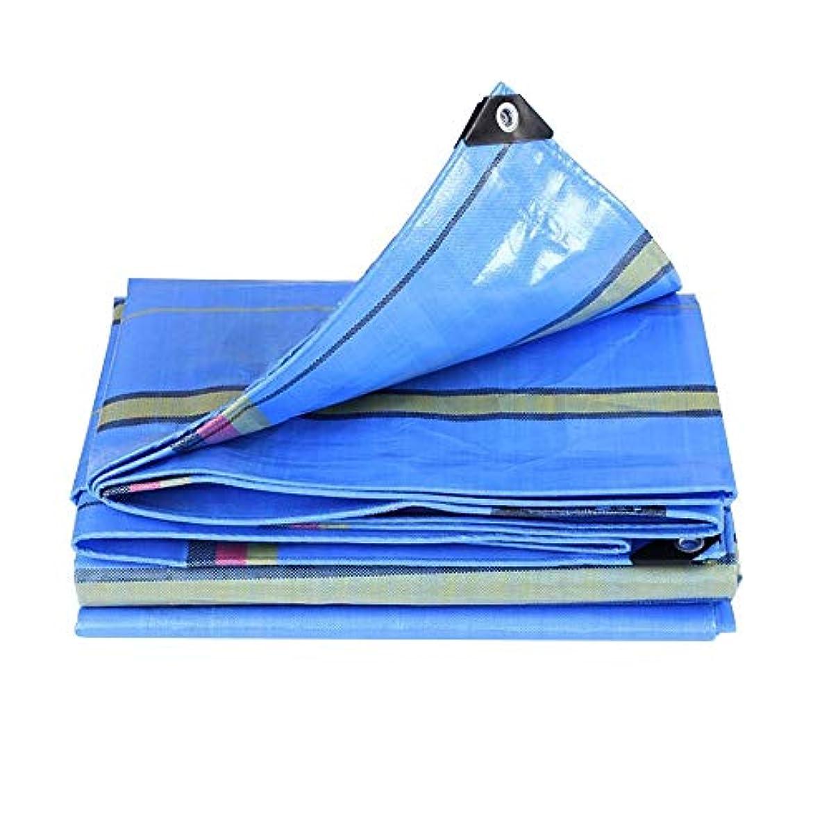 虹群がるコミットXIAOYAN タープ 防水シート、防水/防雨/日焼け止めクロス厚手屋外プラスチックシート多目的防水カバー200g /m²