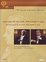 "Mozart : Symphony D Major ""Prague ""  K504 / Symphony E Flat Major  K543 [DVD] [Import]"