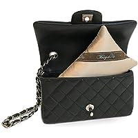 "Bag-a-Vie Handbag Shaper Pillow - Luxury Handbag Shaper & Purse Shapers - [Tres Mini] 7"" x 4.5"" - Made to Fit Chanel Mini Flap, Louis Vuitton & More"
