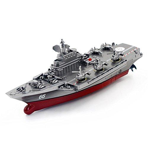 Liebeye 軍艦模型 航空機キャリア/子供のための沿岸エスコートギフト