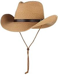 eca9bd2c80ddf GEMVIE 子供 帽子 つば広 カウボーイハット ベルト飾り ...