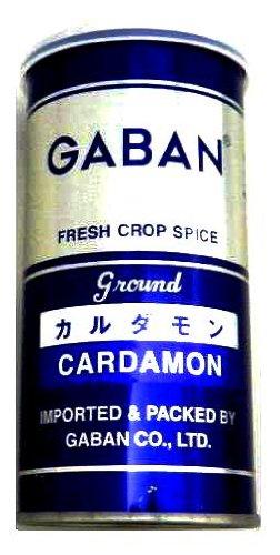 GABAN カルダモンパウダー 60g