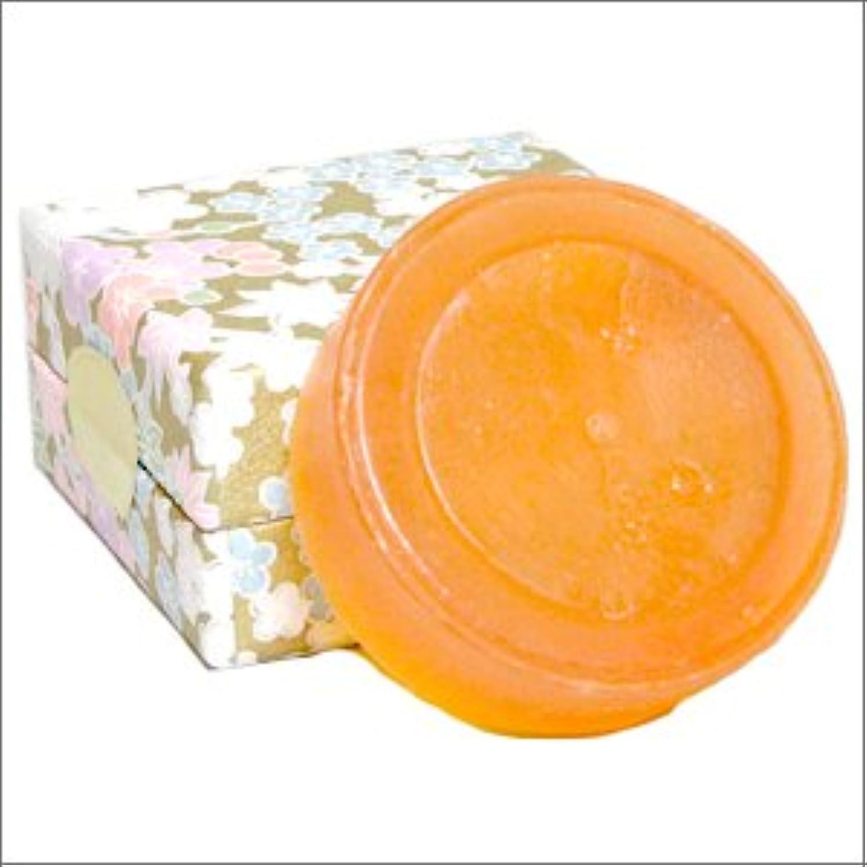 違反驚き狭いエレガント アンジェリカ ソープ(100g×1個)--日本山人参+馬油の石鹸--