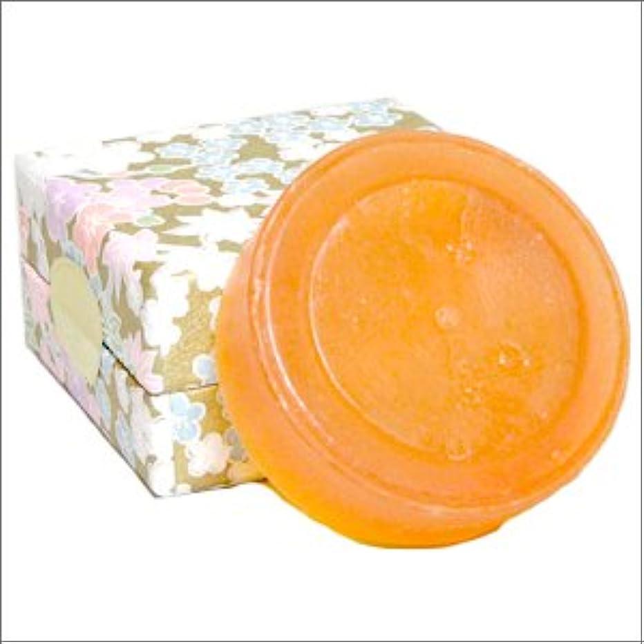 組立頬保存するエレガント アンジェリカ ソープ(100g×1個)--日本山人参+馬油の石鹸--