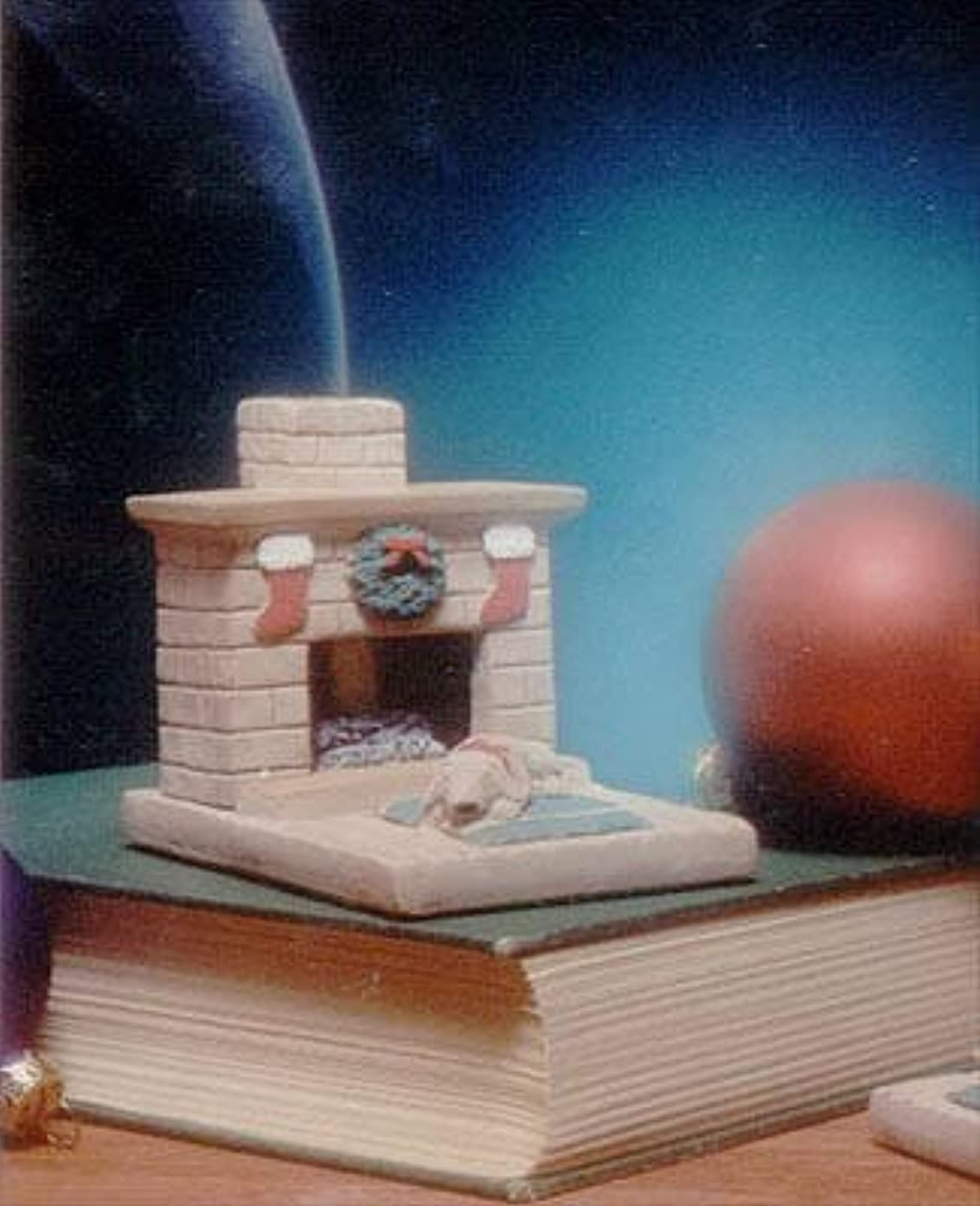 証人ゆでる地球Holiday国Hearth子犬Burner with松の天然木製お香 – Incienso De Santa Fe