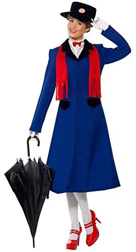 Mary Poppins Adult Costume メリー・ポピンズ大人用コスチューム♪ハロウィン♪サイズ: