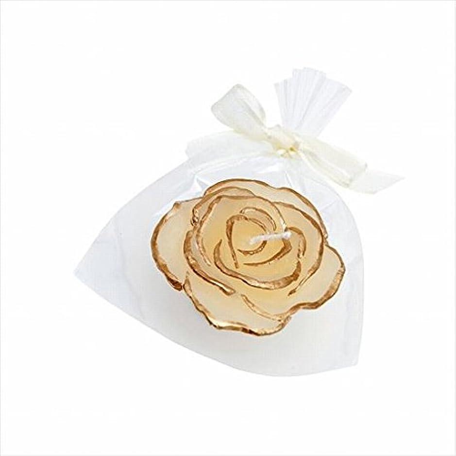 吹きさらしにんじんレーザカメヤマキャンドル(kameyama candle) プリンセスローズ 「 アイボリー 」
