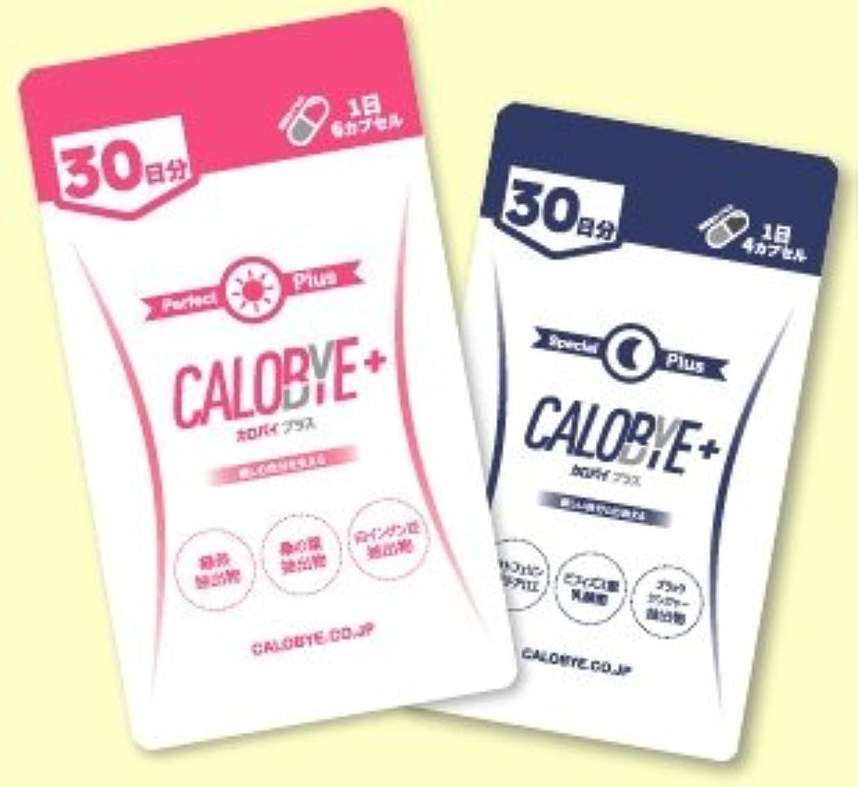 恥ずかしさどこストレスCALOBYE+ (カロバイプラス) CALOBYE SPECIAL+ (カロバイスペシャルプラス) 昼夜セット