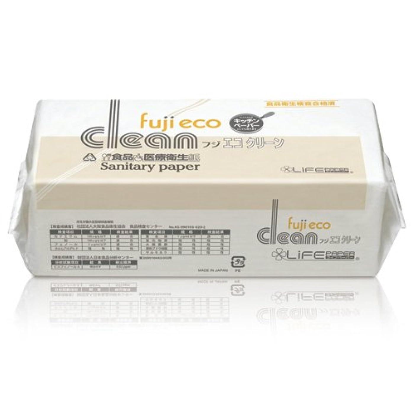 アイロニー破壊的な西大富士製紙 ペーパータオル/タオルペーパー フジエコクリーン 業務用  ( 200枚入1袋×40袋 1ケース)