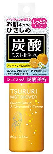 ツルリ ミストシャワー化粧水 スウィートシトラス 80g