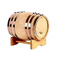 ワインバレルバレルオークワインバレル3L 100Lホワイトワインワインバレルホームデコレーションバレルオークビールバレル (Size : 5L)