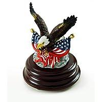 愛国的なアメリカ国旗のイーグル デュアルUSAの旗 ミュージカルフィギュア 400以上の曲がる選択肢 435. Winnie the Pooh USMEG001T