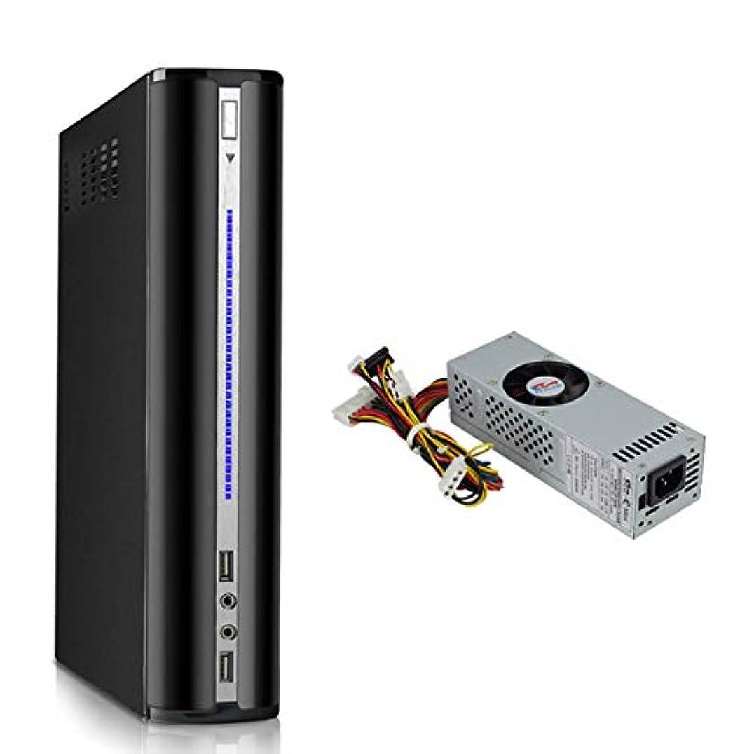 パス反動エッセンスe.mini Mini ITX Mini ATX 工業用PCケース 2007B 200Wスイッチ電源とPCIスロット付き
