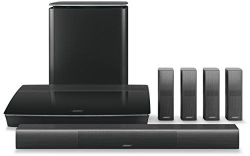 Bose Lifestyle 650 home entertainment system ホームシアターパッケージ ブラック