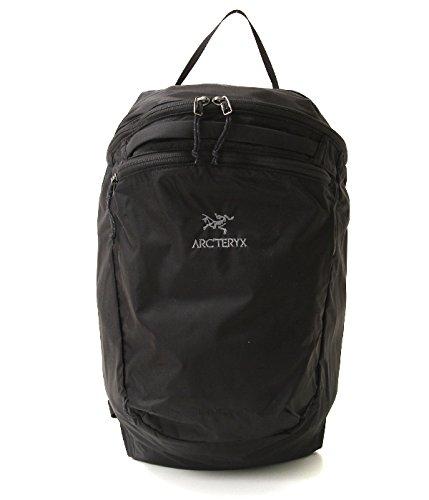 ARC'TERYX/アークテリクス:Index 15 Backpack:リュック インデックス15 バックパック ディパック カバン タウンリュック リュック デイパック コンパクトバッグ アウトドア カバン 軽量 耐久 耐水性:フリーサイズ(ワンサイズ) ブラック