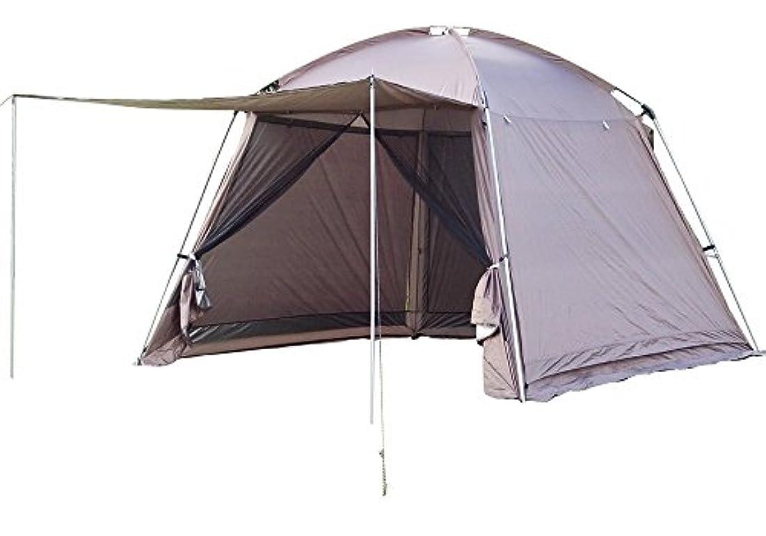 窓流ストレッチJIASHUO スクリーンテント メッシュテント 全3色 防虫メッシュ 耐水加工 UVカット加工 通気性 スクリーン一体型 収納袋付き 重量8kg 3*3*2.2mad249