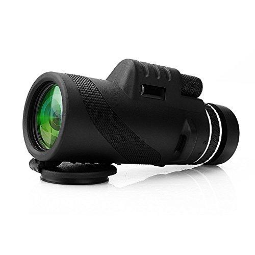 単眼鏡 ARCHEER 40x60単焦点 双焦点光学ズーム望遠鏡、夜間、防水、鳥/野生動物/狩猟/キャンプ/ハイキング/観光/ライブコンサート500m / 9500m