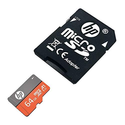『【Amazon.co.jp 限定】HP microSDXCカード 64GB オレンジ A1 UHS-I(U3) 4K Ultra HD対応 最大読出速度100MB/s 1年間保証』の2枚目の画像