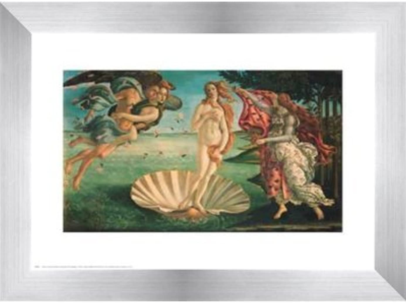 遅滞科学的何Birth of Venus by Sandro Botticelli – 10 x 8インチ – アートプリントポスター LE_28409-F9935-10x8