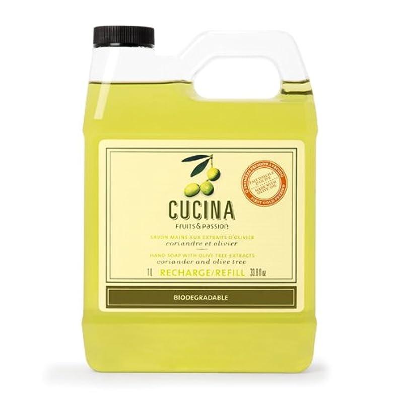 リブ正当化するプレゼンテーションCucina Coriander and Olive Tree 33.8 oz Purifying Hand Wash Refill by Cucina [並行輸入品]