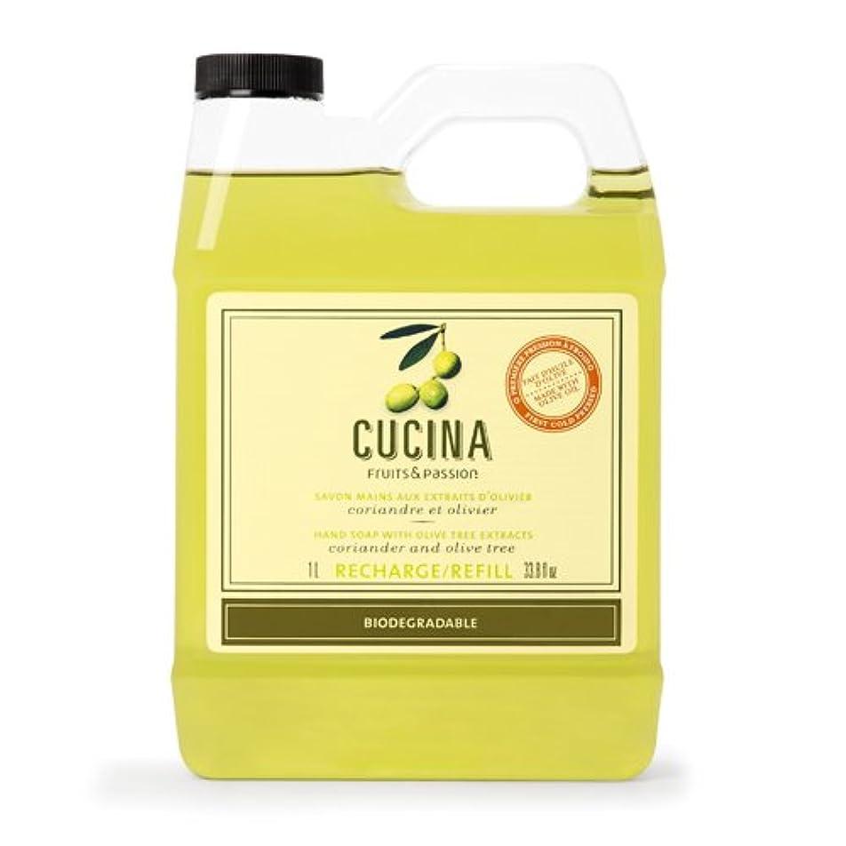 流す文押し下げるCucina Coriander and Olive Tree 33.8 oz Purifying Hand Wash Refill by Cucina [並行輸入品]