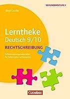 Lerntheke Deutsch: Rechtschreibung 9/10: Differenzierungsmaterial fuer heterogene Lerngruppen. Kopiervorlagen