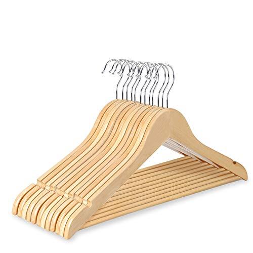 ハンガー 木製ハンガー 洗濯ハンガー 物干しハンガー 衣類ハンガー U型滑り...