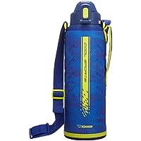 象印 ( ZOJIRUSHI ) 水筒 直飲み スポーツタイプ ステンレスクールボトル 1.55L ライムブルー SD-ED15-AG