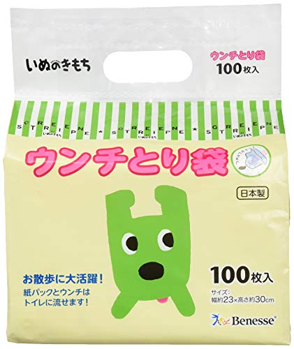 ウンチとり袋 100枚【いぬのきもち】