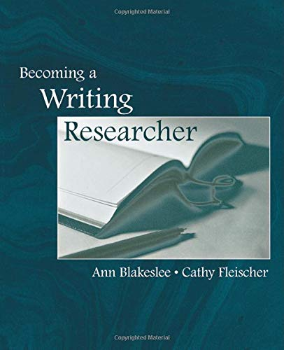 Download Becoming a Writing Researcher 0805839976