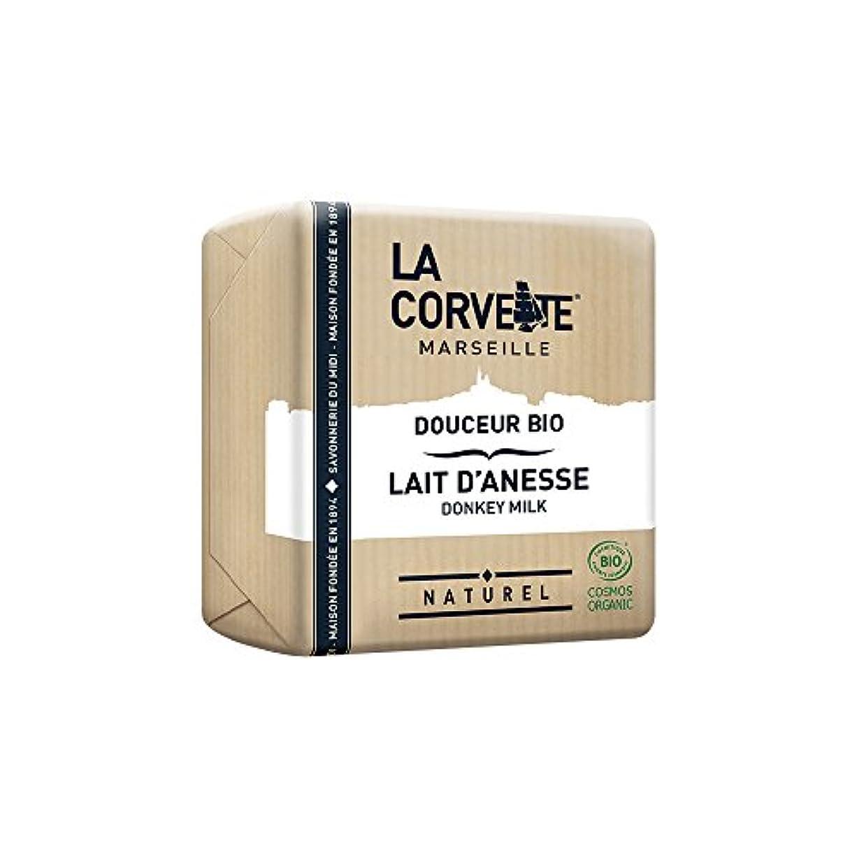 仕える会社閉塞La Corvette(ラ?コルベット) サボン?ドゥスール?ビオ ドンキーミルク 100g