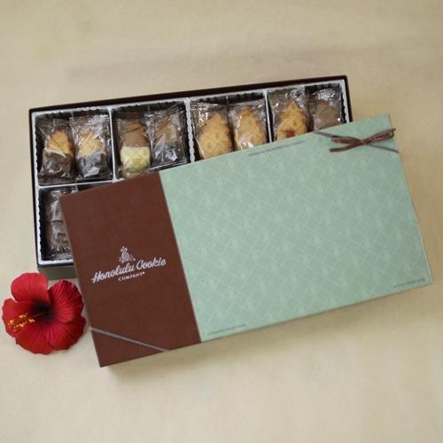 アルティメイトコレクション Xラージサイズ シグネチャーギフトボックス 55枚入り Ultimate Collection XLarge Signature Gift Box (55 pc) ホノルルクッキー 【ハワイ直送品】