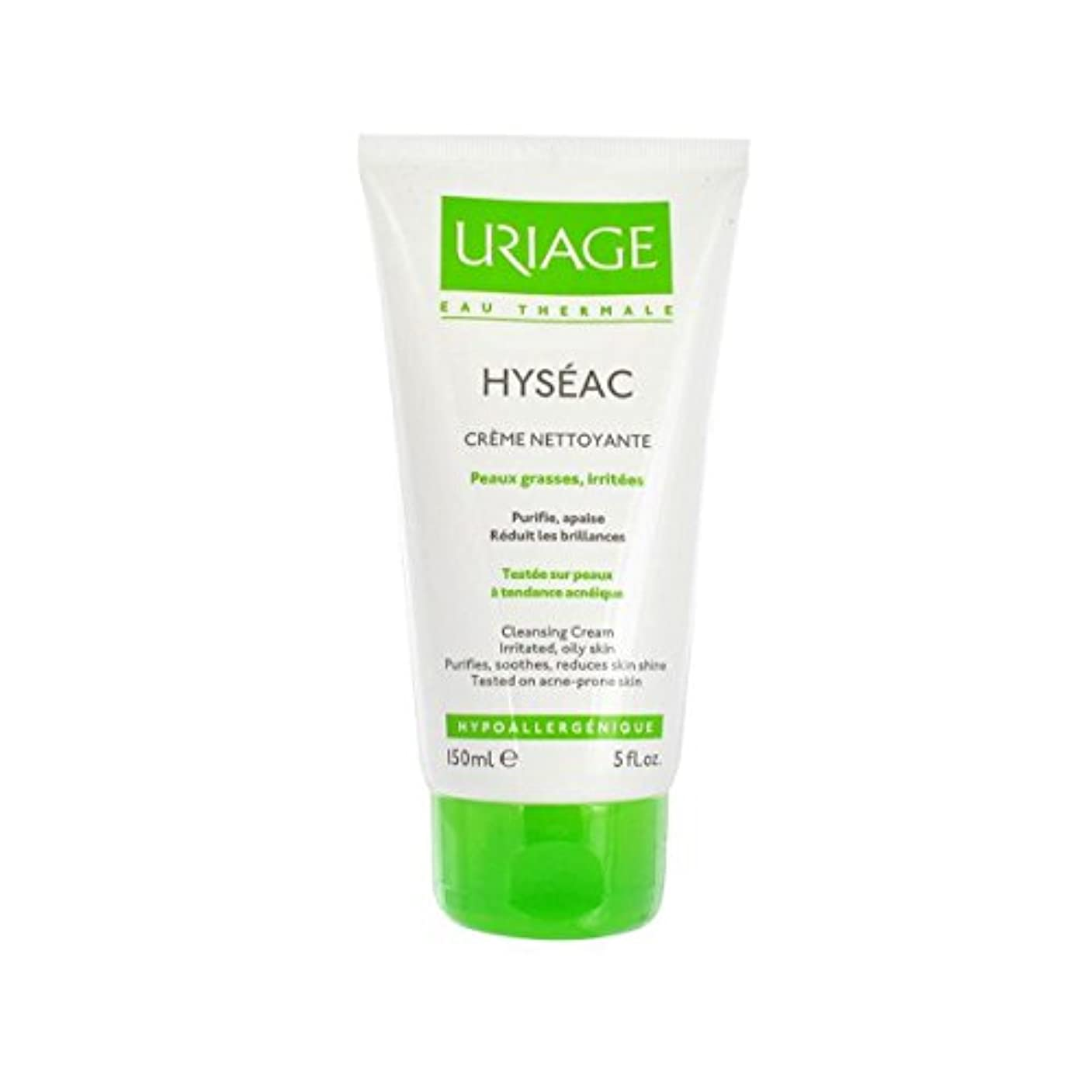 盗難漂流拍車Uriage Hyseac Cleansing Cream 150ml [並行輸入品]