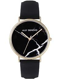 [アリーデノヴォ] ALLY DENOVO 腕時計 Carrara Marble 40mm ゴールド メンズ レディース ウォッチ AM5010-5