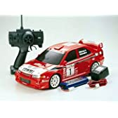 タミヤ 1/10 XB (エキスパートビルト) シリーズ ランサーエボリューションVI WRC (1/2)