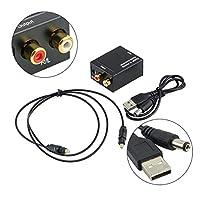デジタルアナログオーディオコンバータアダプタ デジタル光 同軸 信号対アナログ オーディオコンバータアダプタ