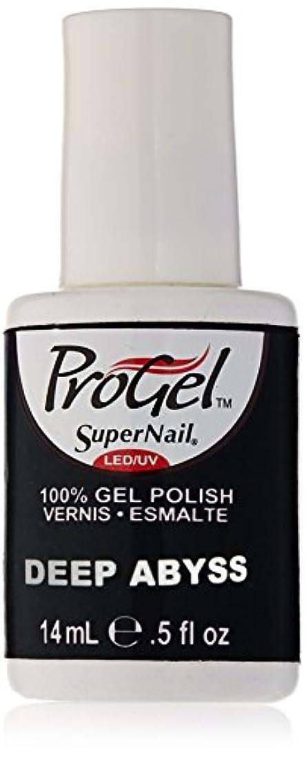 マントル暖かく無線SuperNail ProGel Gel Polish - Deep Abyss - 0.5oz/14ml
