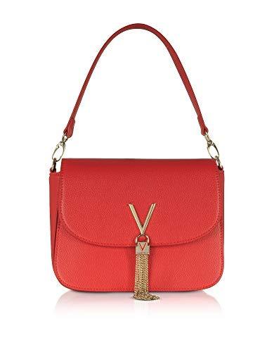 Luxury Fashion | Mario Valentino Womens VBS1R404ROSSO Red Handbag | Season Permanent