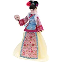 Lovoski 中国古代衣装人形 おもちゃ ジョイントビニールボディードール 10関節 コスチュームドール