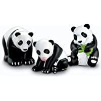 フィッシャープライスLittle People Zoo Talkers Panda Bears Family Pack