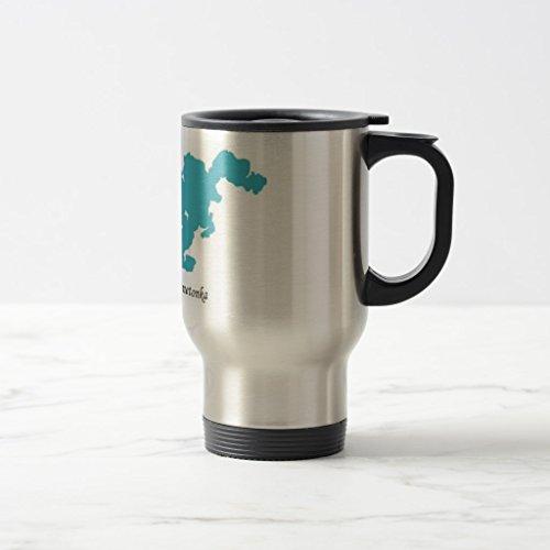 Zazzleミネトンカ湖コーヒーマグ 15 oz, Trav...