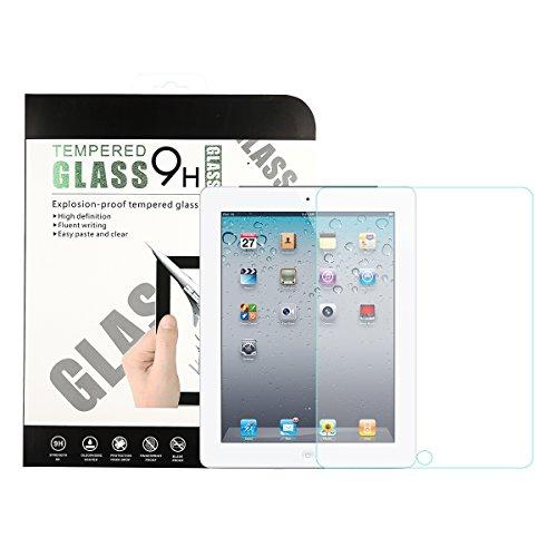 iPad 2 3 4 液晶保護フィルム Abestbox® iPad2 iPad3 iPad4 専用 9H 高品質 HD 0.26mm 硬度9H 耐指紋 撥油性 99%高透過率 耐衝撃 飛散防止処理 [3D Touch対応] 強化ガラス ラウンドエッジ加工 (iPad 2/3/4)