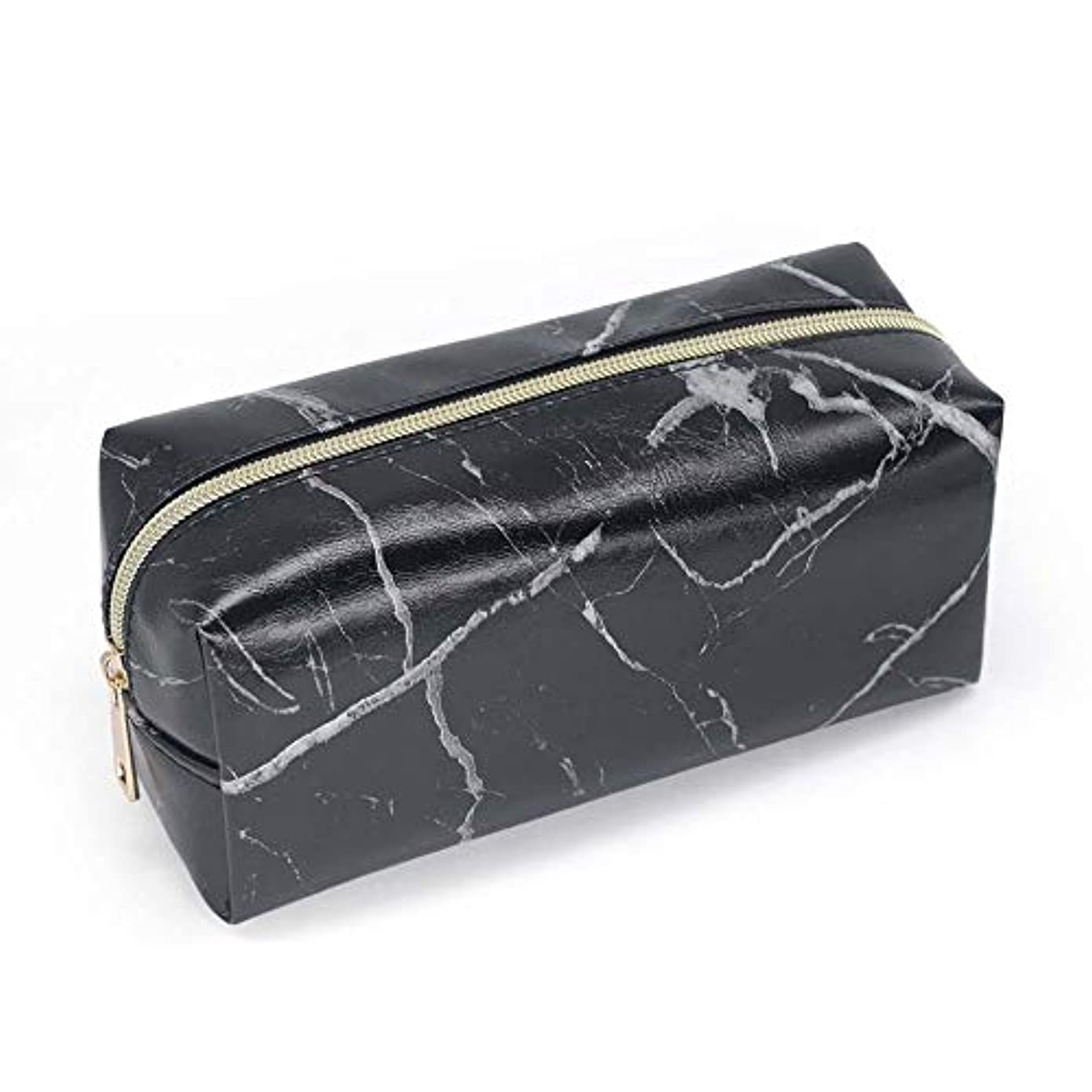 Tivivose 収納ケース メイクポーチ 大理石柄 大容量 化粧ポーチ コスメバッグ コスメポーチ メイクポーチ シンプル おしゃれ かわいい 化粧品 収納 雑貨 小物入れ