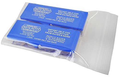 防音 防水機能 耳栓 インスタパティ 8個 4個入×2セット...