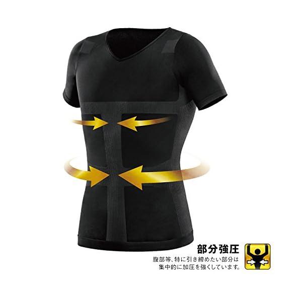 La-VIE(ラヴィ) 加圧インナーシャツ す...の紹介画像5