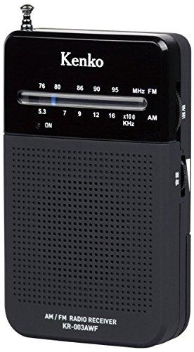 Kenko 포켓 라디오 KR-002/003 와이드FM대응-