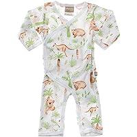 Babyushka Australian Organic Long Sleeve Forest AOP Kimono, 0000