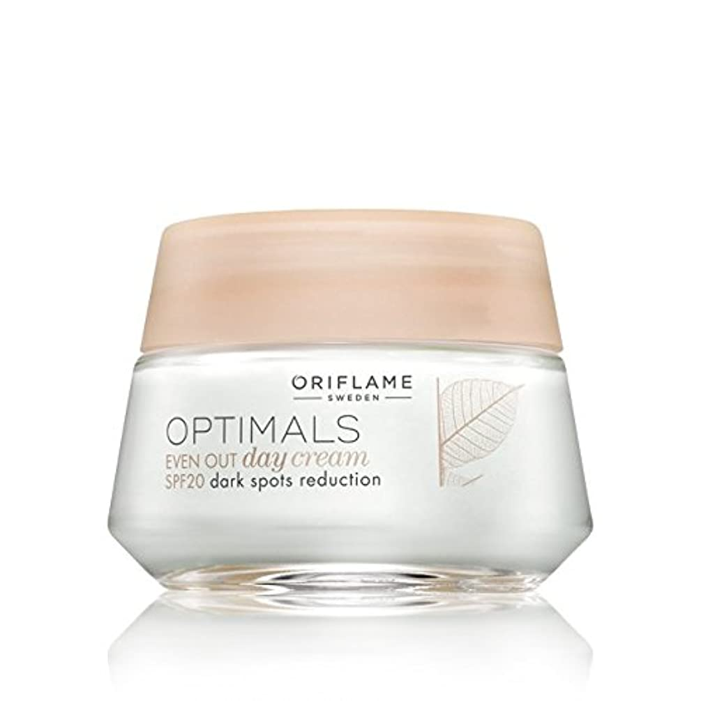 スクラッチ落ち着いておもてなしOriflame Optimals SPF 20 Dark Spot Reduction Even Out Day Cream, 50ml