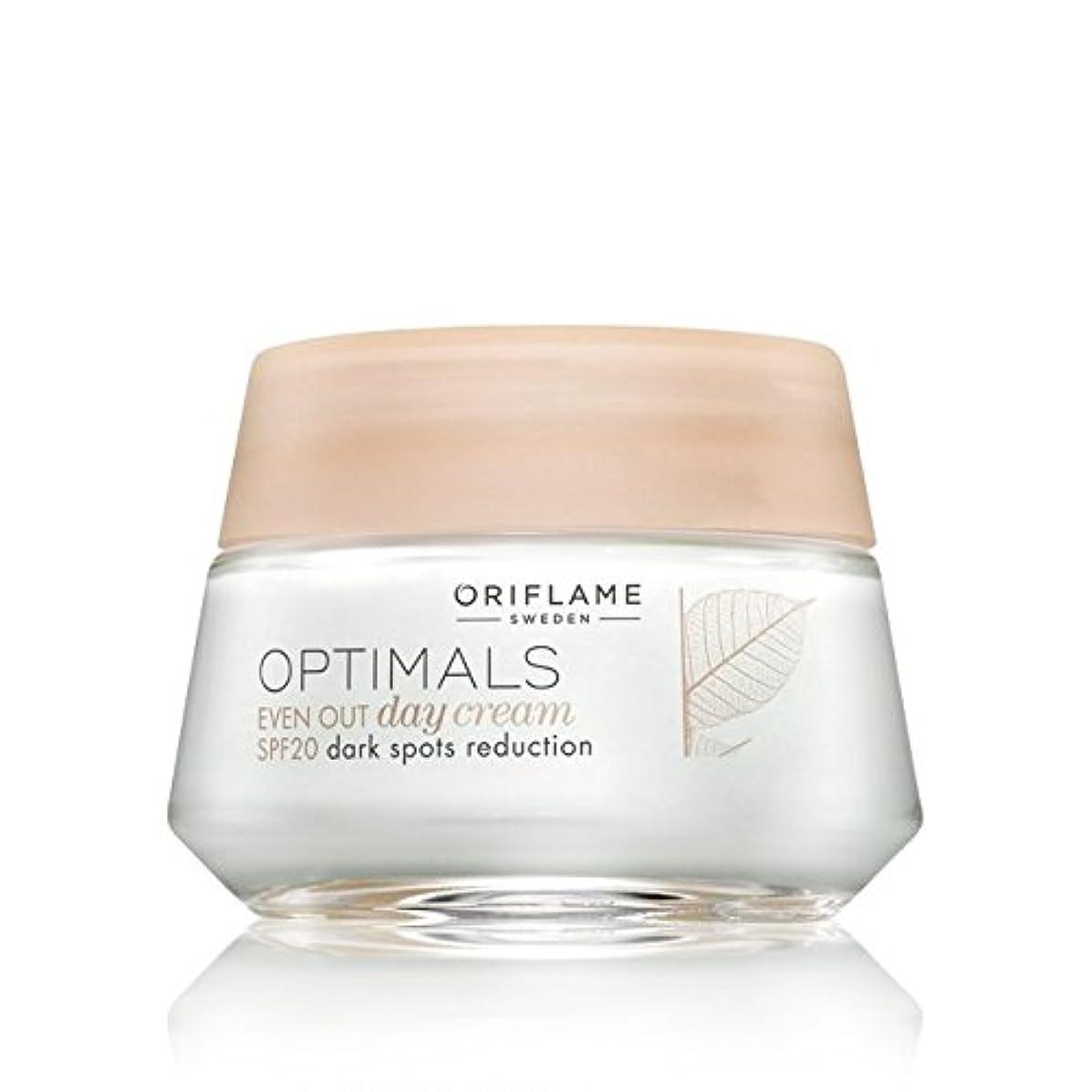 生き返らせるラボ異常Oriflame Optimals SPF 20 Dark Spot Reduction Even Out Day Cream, 50ml