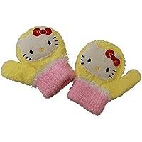 (ハローキティー)Hello Kitty キティちゃん笛付き子供用手袋